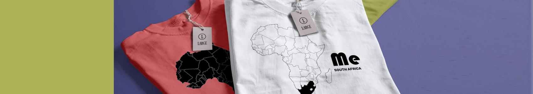 africame shop T-Shirts Multiple colors branded